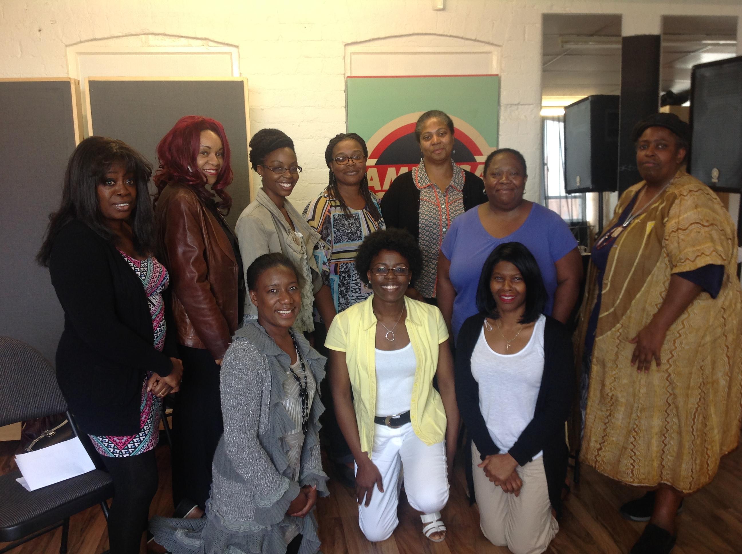 First Cohort of CFMNE Sept 2014,l hosted by Millicent Stephenson